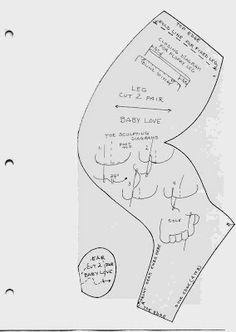 Moldes de muñecas: creaciones bahía Carolee