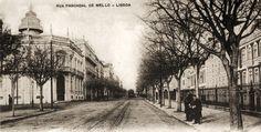Rua Pascoal de Melo - princípio do século XX