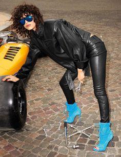 Mica Arganaraz by Terry Richardson for Vogue Paris