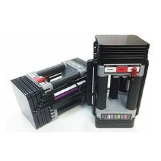 Buy the Powerblock Elite 50 Dumbbell Set for sale online with shipping included nationwide. Ideal compact set ranging from 5-50 lbs for home use.