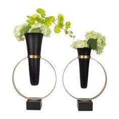 现代新中式花瓶摆件创意花器装饰品样板房客...