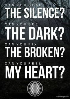 BMTH has such great lyrics! Band Quotes, Lyric Quotes, Being As An Ocean, Oliver Sykes, Under Your Spell, My Demons, Music Lyrics, Bmth Songs, Jimi Hendrix