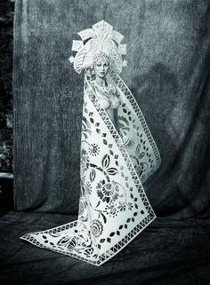 Les Robes de Mariée délicates en Papier de Asya Kozina (5)