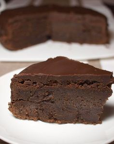 Chocolate Buttermilk Cake from My Food Trail Just Desserts, Delicious Desserts, Yummy Food, Sweet Recipes, Cake Recipes, Dessert Recipes, Yummy Treats, Sweet Treats, Chocolate Desserts