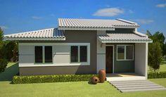 Fachadas de Casas Simples, Bonitas e Pequenas! - DecorSalteado
