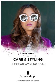 Managing layered hair can be simple. Get styling and care tips right here Hair Tips, Hair Hacks, Split Ends, Layered Hair, Master Class, Your Hair, Hair Care, Layers, Simple