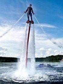 #Flyboarden is een van de extreme watersporten op @FunBeachPanheel