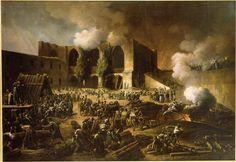 El General de Brigada francés Dubreton es asediado por 35.000 Anglo portugueses del general Wellington, octubre de 1812 en el castillo de Burgos