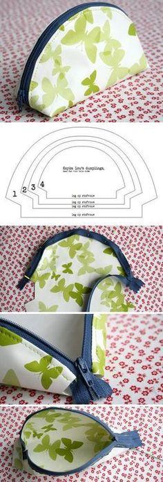 Great Snap Shots sewing tutorials zippers Tips Sew Dumpling Zipper Pouch Tutorial www. Small Sewing Projects, Sewing Projects For Beginners, Sewing Hacks, Sewing Tutorials, Sewing Tips, Tutorial Sewing, Sewing Ideas, Sewing Patterns Free, Free Sewing