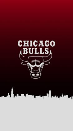 Bulls Wallpaper, Jordan Logo Wallpaper, Chicago Basketball, Basketball Art, Chicago Logo, Chicago Bulls, Nba Background, Neymar Football, Cool Wallpapers For Phones