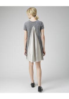 Sacai Luck / Angora Split Back Dress | La Garçonne