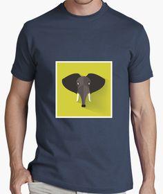 Elephant, elefante. Elephant, Mens Tops, T Shirt, Fashion, Chemises, Colors, Supreme T Shirt, Moda, Tee Shirt