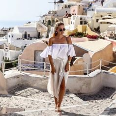 Paradise (and dream outfit) found.