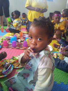 Kinder KITA Nkululeko Südafrika Orange Farm