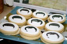 Beatles Birthday Party Cookies | www.inklingsandyarns.com