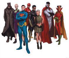 Earth 16 by Ben Oliver Grant Morrison, Superman One Million, Geeks, Comic Character, Character Design, Ben Oliver, Arte Dc Comics, Batman, Spiderman