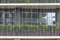seo inc jun hashimo JCCU facade toh rain-chain designboom