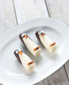 Een erg leuke traktatie, namelijk pinguïn bananen. We leggen uit hoe je deze traktatie zelf kunt maken.