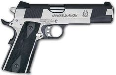 Clyde Armory Springfield 1911A1 Loaded 45 Black Stainless PX9154LP My Everyday Carry