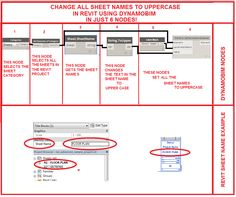Simply Complex: CHANGE SHEET NAMES TO UPPER CASE IN REVIT USING DYNAMOBIM