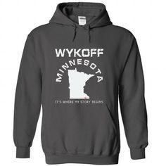 Get Cheap I Love WYKOFF Hoodies Sweatshirts - Cool T-Shirts