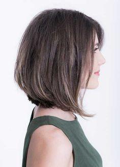 50 Chic Short Bob Hairstyles & Haircuts for Women in 2019 - Style My Hairs Choppy Bob Hairstyles, Short Hairstyles For Women, Cool Hairstyles, Hairstyle Ideas, Bob Haircuts, Haircut Bob, Female Hairstyles, Layered Hairstyles, Hairstyles 2016