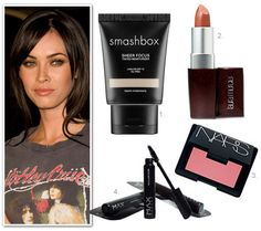 1: Smashbox Sheer Focus Tinted moisturiser $48.00 from Smashbox 2: Laura Mercier Lip Colour in Caramel Crème $46.51 from Adore 3: Max Factor 2000 Calorie mascara $18.99 from Makeup Direct 4: Nars Blush (try Orgasmic, Deep Throat or Torrid) $76.00 from Mecca