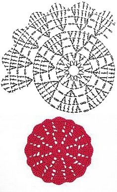 Hobby: Damskie pasje i Odkryj i pokaż innym Twoje hobby.Crochet doily Step by step TutHobbies For 7 Year OldsHobbies With Wood Refferal: 2935308653 How to conn Crochet Coaster Pattern, Crochet Motif Patterns, Crochet Diagram, Crochet Chart, Thread Crochet, Crochet Designs, Crochet Stitches, Crochet Pincushion, Crochet Potholders