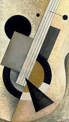 Bela De Kristo (Hungary, 1920-2006, France) Le Banjo (1967)