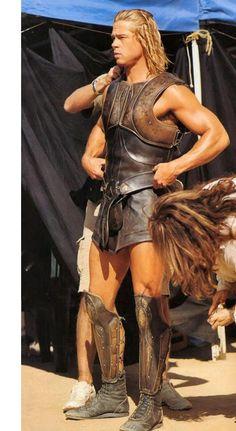 Brad Pitt Troy | brad pitt workout legs troy achilles