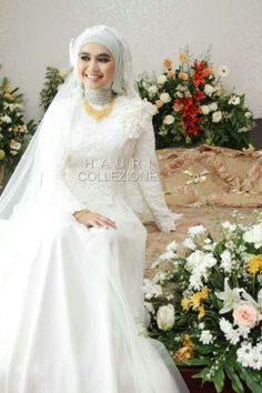 Hauri Collezione #indonesia #wedding #hijab #muslim #bride