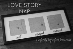 love story map