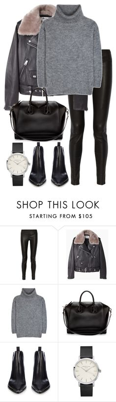 """Untitled #2800"" by elenaday on Polyvore featuring Helmut Lang, Acne Studios, Yves Saint Laurent and Givenchy"