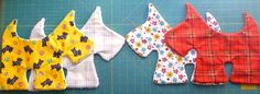 free pdf for scottie by Sew Handmade | Scottie Dog Soft Toy Tutorial