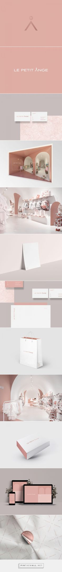 Le Petit Ånge Children's Clothing Boutique Branding by Bullseye | Fivestar Branding Agency – Design and Branding Agency & Curated Inspiration Gallery