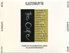 Although saying 'Recorded live at the Glastonbury Festival, Somerset on 24 June 1990', it was on 23 June.