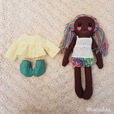 Rag doll handmade girl, heirloom fabric dolls, ooak dress up cloth doll, by beccalalia on Etsy Fabric Dolls, Doll Clothes, Dress Up, Cotton, Handmade, Etsy, Baby Doll Clothes, Hand Made, Costume