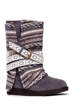 Nikki Convertible Belt Wrapped Boot by MUK LUKS on @nordstrom_rack