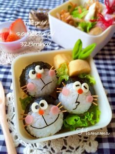 Must-Try Japanese Dishes Japanese Food Art, Japanese Dishes, Japanese Sweets, Kawaii Bento, Cute Bento Boxes, Bento Box Lunch, Bento Recipes, Baby Food Recipes, Kawaii Cooking