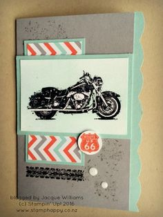stampin up wild ride crayon resist pop up window