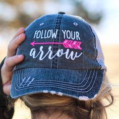 Follow Your Arrow Trucker Hats