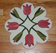 318 best Wool Work Projects images on Pinterest   Penny rugs, Felted wool and Wool applique