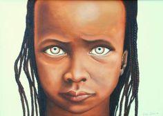 """Saatchi Art Artist Cetin Pireci; Painting, """"war children"""" #art"""
