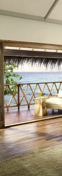 Have an exclusive view right from your room at the Vivanta by Taj-Coral Reef in the Maldives.