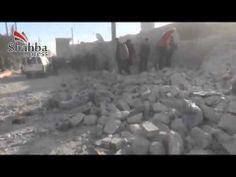 ريف حلب مارع ــ قصف ممنهج لطيران النظام يستهدف المدنيين 22  12  2013