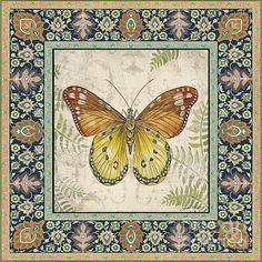I uploaded new artwork to fineartamerica.com! - 'Vintage Tapestry Butterfly-b' - http://fineartamerica.com/featured/vintage-tapestry-butterfly-b-jean-plout.html via @fineartamerica