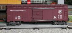 Lionel postwar # 3484 Pennsylvania operating boxcar.