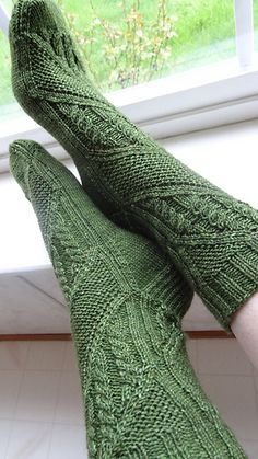 Originally designed as one of two featured patterns for my Ravelry group's mystery KAL, running from July 1 through September 30 The other pattern is the matching shawl for these socks. You can buy each pattern individually or as a set Crochet Socks, Knitting Socks, Baby Knitting, Knit Crochet, Knitted Slippers, Knitting Machine, Vintage Knitting, Crochet Granny, Free Knitting