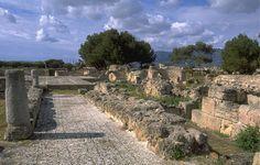 Pula, Strada romana di Nora