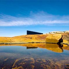 Fogo Island studio surrounded by incredible natural landscape | Architect   Todd Saunders